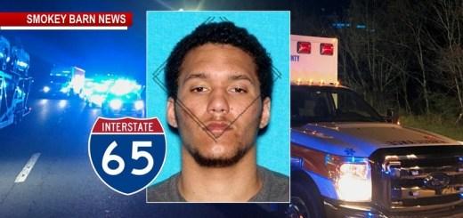Gallatin Homicide Suspect Kills-Self After Pursuit/Crash On I65 Near Millersville, Sources Say