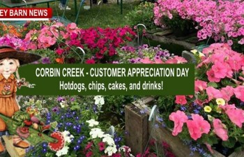 Corbin Creek Greenhouse To Host Special Mother's DayCelebration