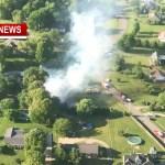 Massive Fire Destroys Springfield Home Friday
