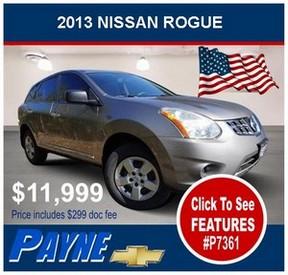 Payne 2013 nissan rogue p7361 flag 300