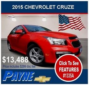 Payne 2015 chevrolet cruze 1335a flag 300