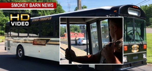 Put Your Phone Down, Law Enforcement Use Bus To Target Distracted Drivers