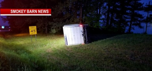 Three Hospitalized In I-65 South Rollover (One Lane Blocked)