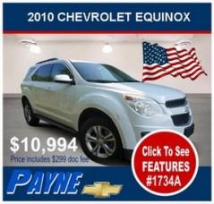 Payne 2010 Chev Equinox 1734A 288