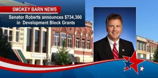 Senator Roberts announces $734,300 in Community Development Block Grants for Springfield and Vanleer