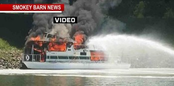 Houseboat Explosion/Fire Forces Couple To Abandon Ship