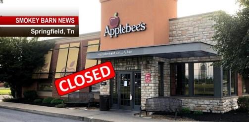 It's Official Springfield Applebee's Closes Its Doors