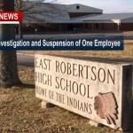 Allegations Trigger Investigation/Suspension Of East Robertson High Teacher