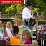 Annual October In Orlinda Festival Coming October 13th