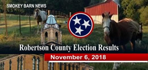 Robertson County Election Results (November 6, 2018)