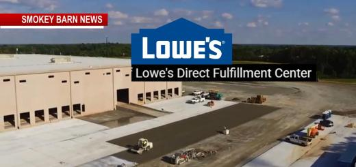 Lowe's Fulfillment Center Opens In Coopertown (Time-Lapse VIDEO)
