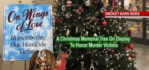 Homicide Victims & Families Remembered With Christmas Memorial Tree