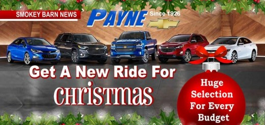 Get A New Ride For Christmas, See Payne's Top Ten