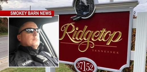 Ridgetop Police Chief Says Hostile Work Environment Endangering Citizens