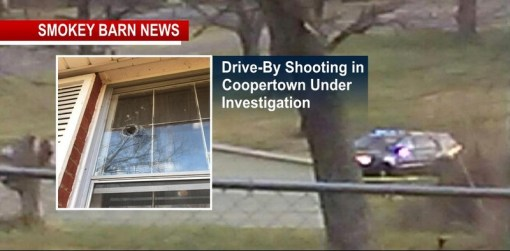 Drive-By Shooting In Coopertown Under Investigation