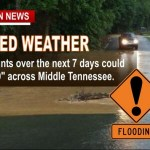 Heavy Rain, Flooding Expected, Up to 10 Inches Over Next 7 Days