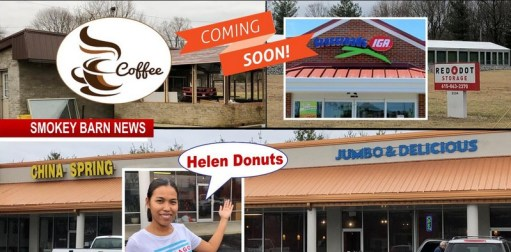 Coming Soon Grocery Store Eatery Gas Station Coffee