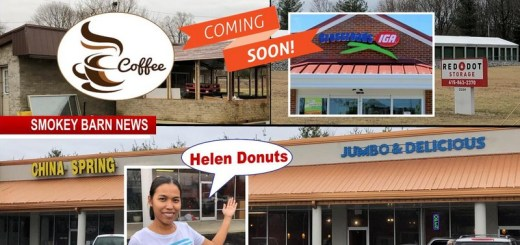 Coming Soon: Grocery Store/Eatery/Gas Station, Coffee House & Donut Shop