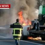 I-65 Truck Fire Re-Cap (No injuries)