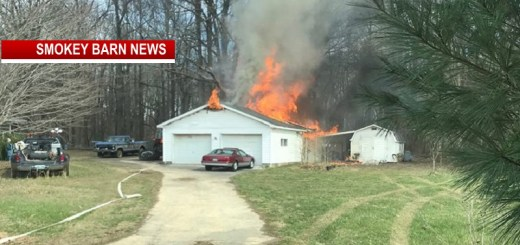 Firefighters Make Good Stop After Fire Engulfs Garage