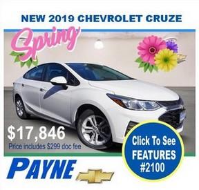 Payne 2019 Chev cruze 2100 288px