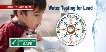 """Lead Testing: """"Water Safe"""" In Robertson Schools, Officials Say"""