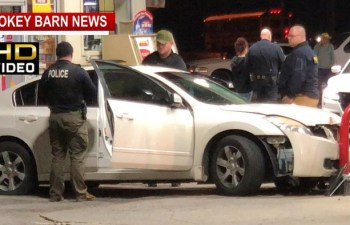 Fleeing Suspect Crashes Into Sudden Service In Springfield