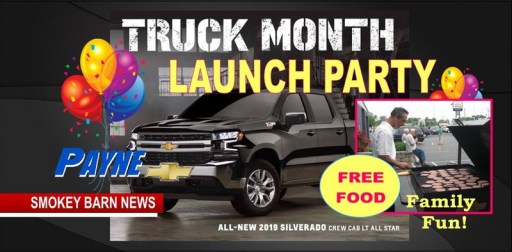 Payne Kicks Off Silverado Launch With Food Fun and Test Drives