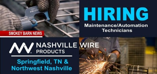 Nashville Wire Products NOW Hiring Springfield & Nashville locations