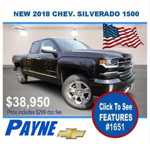 Payne 2018 Silverado 1651 300