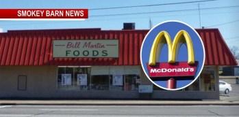 McDonald's Considers Bill Martin Spot In Greenbrier
