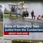 Springfield Teen Drowns In Cumberland River