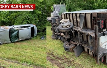 Hwy 41 Slow Following 3 Vehicle Rollover Crash Near Cedar Hill