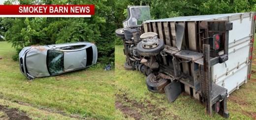 Hwy 41 Slow Following 3 Vehicle Rollover Crash Near Cedar Hill