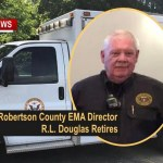 Long Time Robertson County EMA Dir R.L. Douglas Retires