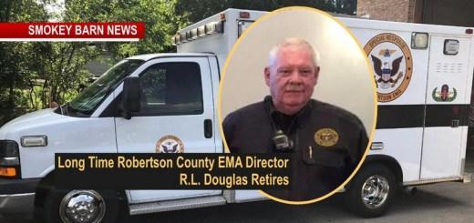 Long Time Robertson County EMA Dir R.L. Douglas Retires