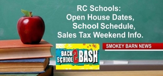 "RC Schools: Open House Dates, 2019-2020 Schedule, Sales Tax Weekend & ""Back To School Bashes"""