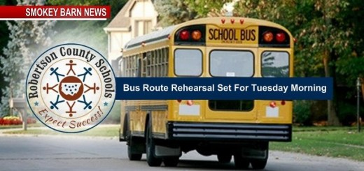 Bus Drivers To Test Routes Tuesday Morning July 30