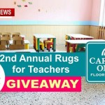 Rug Giveaway For Teachers By Springfield's Carpet One (How To Enter)
