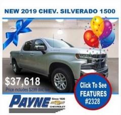 Payne 2019 Chev Silverado 2328 288