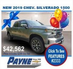 Payne 2019 Chev Silverado 2333 288