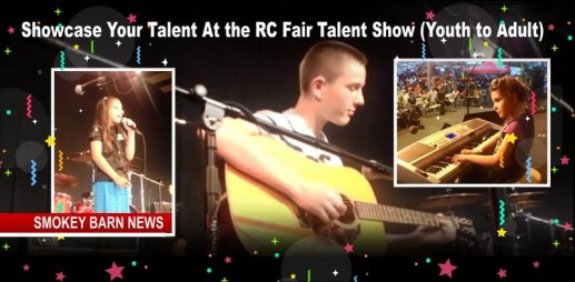 Age 5- 19? Got Talent? Sign Up For The RC Fair's Youth Talent Show HERE