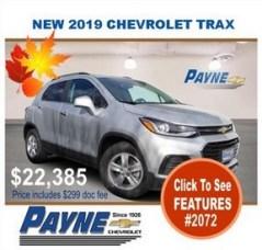 Payne 2019 Chev Trax 2072 288