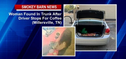 Driver Stops For Coffee-Finds Woman In Trunk