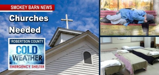 Churches/Volunteers Needed For Local Cold Weather Shelter