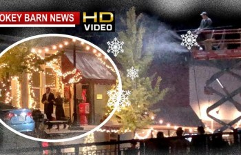 Film Crew Makes It Snow In Springfield Thursday Night