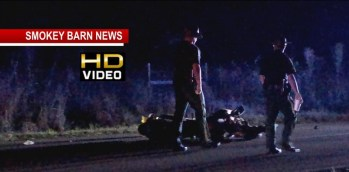 Motorcycle Crash Near Springfield Injures One