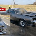 69 Camaro Ignites In Springfield Thanksgiving Day