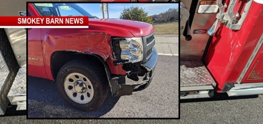 Holiday Traffic Advisory After Fire Engine Sideswiped In Route To Crash