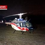 Medical helicopter Makes Emergency Landing In Orlinda